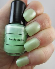 Liquid Kandi Nail Lacquer- The Summer Glow Collection (partial) Cant-elope Glow | Lustrous Lacquer