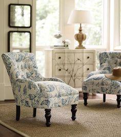 Custom Elaine Accent Chair - Accent Chair - Interior Seating - Furniture   HomeDecorators.com