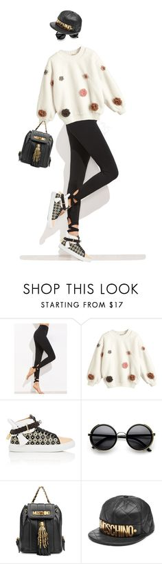 """""""eva1715"""" by evava-c on Polyvore featuring BUSCEMI, ZeroUV and Moschino"""