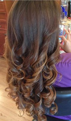 Pinning for the curls