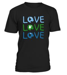 LOVE - Earth Day  Funny Podcast T-shirt, Best Podcast T-shirt