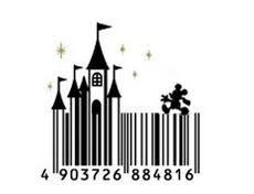 mickey barcode #Disney #Mickey
