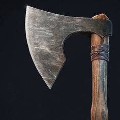 A simple bearded axe. Created in 3Ds Max, ZBrush, Substance Painter. Rendered in Marmoset.