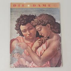 Auktionslos 1033 - Die Dame  Zeitschrift, Berlin 1937, Heft 25, zahlr. Abb. z.T. farbig, 128 S., Titelblatt min.