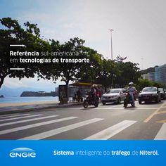 A gestão inteligente do tráfego permitirá reduzir em 30% o tempo de deslocamento do cidadão de Niterói. A tecnologia, pioneira na América Latina, foi desenvolvida pela ENGIE. #ENGIE