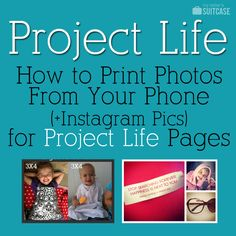 My Sister's Suitcase: How to Print Phone & Instagram Pics {for Project Life} directly from phone to Costco!