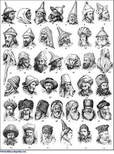 http://www.jewishencyclopedia.com/articles/7433-head-dress