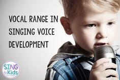 Let's talk about when and how to extend the singing voice range of young singers!