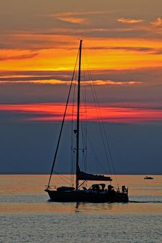 sunset yacht, Istria, Croatia