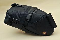 "The ""Escape Pod"" ultralight rack-less bikepacking saddle pack | Flickr - Photo Sharing!"