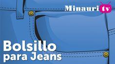 DIY - Bolsillo de Jean ( Jeans type pocket )