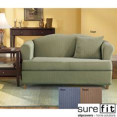 Sofas For Sale Sure Fit Stretch Stripe piece T cushion Sofa Slipcover by Sure Fit