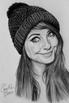 Zoella drawing