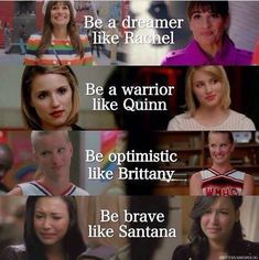 glee quinn and rachel and santana - Google Search