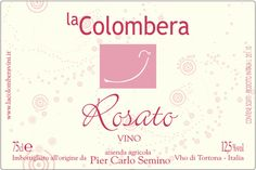 Wine label La Colombera