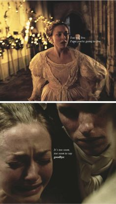 """""""Yes Cosette, forbid me now to die, I'll obey, I will try..."""" *me sobbing uncontrollably*"""