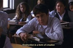 Jake Gyllenhaal in Donnie Darko Series Quotes, Film Quotes, Sad Movie Quotes, Indie Quotes, Cinema Quotes, Cartoon Quotes, Donnie Darko Quotes, Donnie Darko Tattoo, Movie Lines
