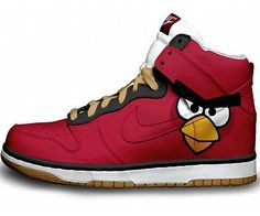 Angry bird nike shoes