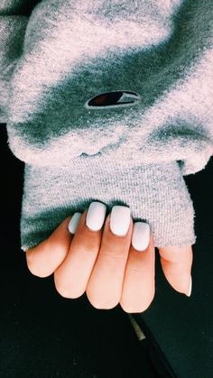 Make an original manicure for Valentine's Day - My Nails Cute Acrylic Nails, Cute Nails, Pretty Nails, Hair And Nails, My Nails, Nail Ring, Manicure Y Pedicure, How To Do Nails, Short Nails