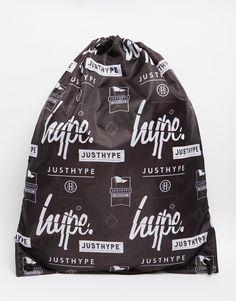 Hype+Logo+Drawstring+Backpack