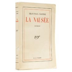 La Nausée. Roman. SARTRE, Jean-Paul. ($4,095) ❤ liked on Polyvore featuring books, fillers and other