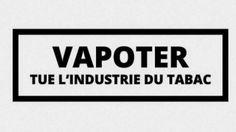 La vape est une menace pour l'industrie du tabac. Vape, Journal, Signs, Smoke, Electronic Cigarette, Shop Signs, Vaping, Electronic Cigarettes, Sign