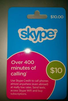 SKYPE Credit $10 Physical Card * FAST SHIPPING * FREE SHIPPING *  http://searchpromocodes.club/skype-credit-10-physical-card-fast-shipping-free-shipping-2/