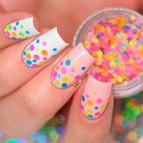 Fresh And Lovely Nail Designs For Summer - Nail Designs - Nail Art Shellac Designs, Fingernail Designs, French Nail Designs, Nail Art Designs, Nails Design, French Nails, Spring Nail Trends, Nagellack Trends, Nails 2018
