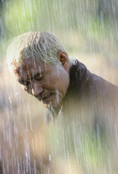 Takeshi Kitano as Zatoichi in Zatoichi 2003