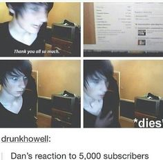 Fetus Dan is so freaking cute. I want to see fetus Dan react to his amount of subscribers now.