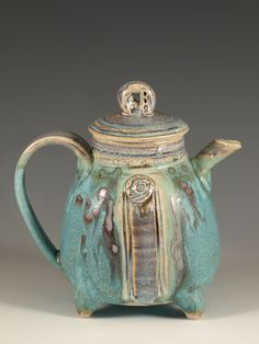 Teapot #37 by hodaka pottery