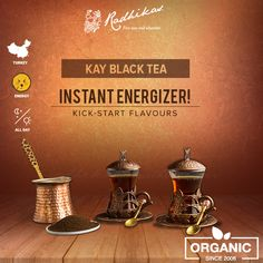 Savour the finest flavour of #KayBlack tea from the distant tea gardens of Turkey, to give an instant kick-start to your day.  #RadhikasFineTeas