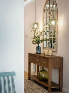 Mudroom, Entryway Tables, House, Furniture, Home Decor, Hallways, Chile, Ideas, Wall Mirrors