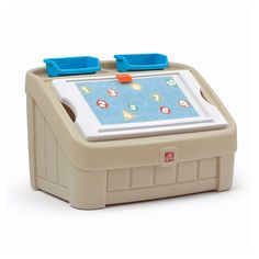 2-in-1 Toy Box & Art Lid™ - Tan by Step2 is one of most popular Toy Boxes products for children. View and shop now
