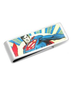 Vintage Superman Money Clip: For the guy who often comes to your rescue, a vintage clip for holding his bills.