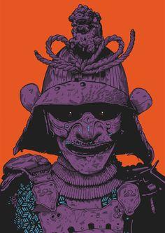 Samurai - mcdonaghillustration