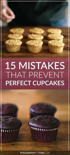 The Outer Edges Of The Cupcakes Bake Too Fast Crisp Up And Stop
