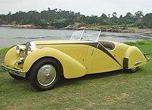 Bugatti T57 built by Worblaufen