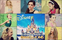 Disney inspired Dance Moms