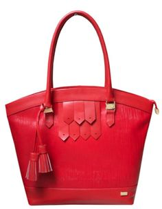 Only Designers Shop LLC - NATALIA RED GENUINE LEATHER, $169.00 (http://onlydesignersshop.com/natalia-red-genuine-leather/)