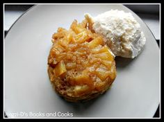 Individual Pineapple Upside Cakes-perfect for dinner parties or a romantic dinner for two!