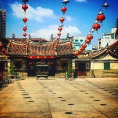 Temple chinois dans le quartier de Chinatown à Saigon #Vietnam