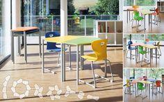 Move-Table PENTA feiert Premiere bei der Fachmesse Interpädagogica Table, Class Room, School, House, Tables, Desk, Tabletop, Desks