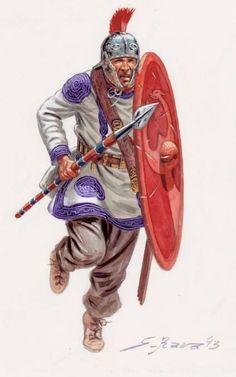 Legionary, Late Roman Empire.