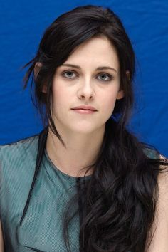 A low-tied ebony ponytail for a [i]The Twilight Saga: Breaking Dawn - Part One[/i] photocall in Los Angeles.