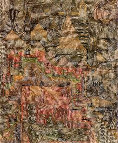 Castle Garden 1931 Painting By Paul Klee - Reproduction Gallery Klimt, Rembrandt, Wassily Kandinsky, August Macke, Paul Klee Art, Franz Marc, Art Ancien, Norman Rockwell, Museum Of Modern Art