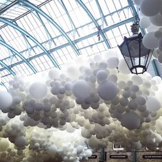 Charles Pétillons installation in Covent Garden