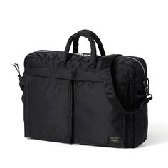 Tanker-Original Briefcase in black by Head Porter - $218