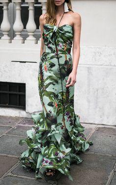 Liana Silk Organza Top by JOHANNA ORTIZ for Preorder on Moda Operandi