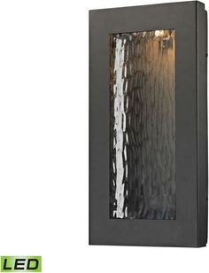 Jeremy Led Outdoor Wall Sconce In Matte Black